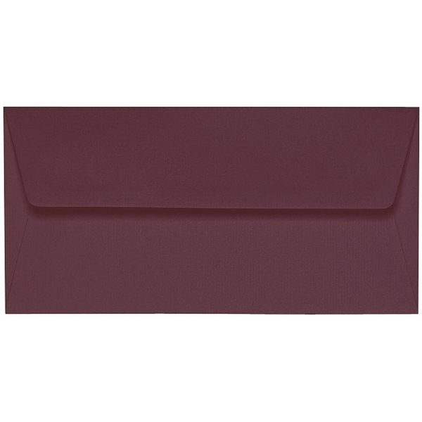 Artoz 1001 - 'Marsala' Envelope. 216mm x 80mm 100gsm Letterbox Peel/Seal Envelope.