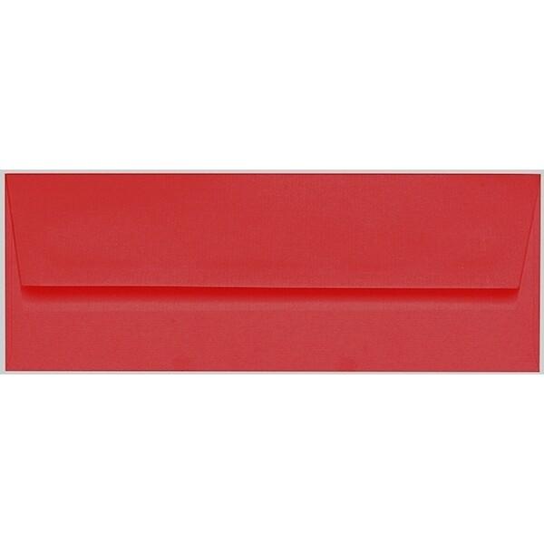 Artoz 1001 - 'Red' Envelope. 216mm x 80mm 100gsm Letterbox Peel/Seal Envelope.