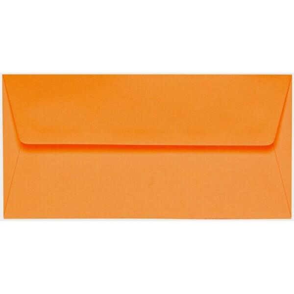 Artoz 1001 - 'Orange' Envelope. 216mm x 80mm 100gsm Letterbox Peel/Seal Envelope.