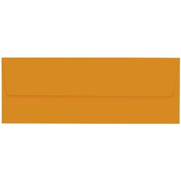 Artoz 1001 - 'Mandarin' Envelope. 216mm x 80mm 100gsm Letterbox Peel/Seal Envelope.