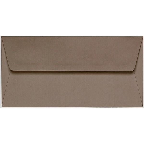 Artoz 1001 - 'Taupe' Envelope. 216mm x 80mm 100gsm Letterbox Peel/Seal Envelope.