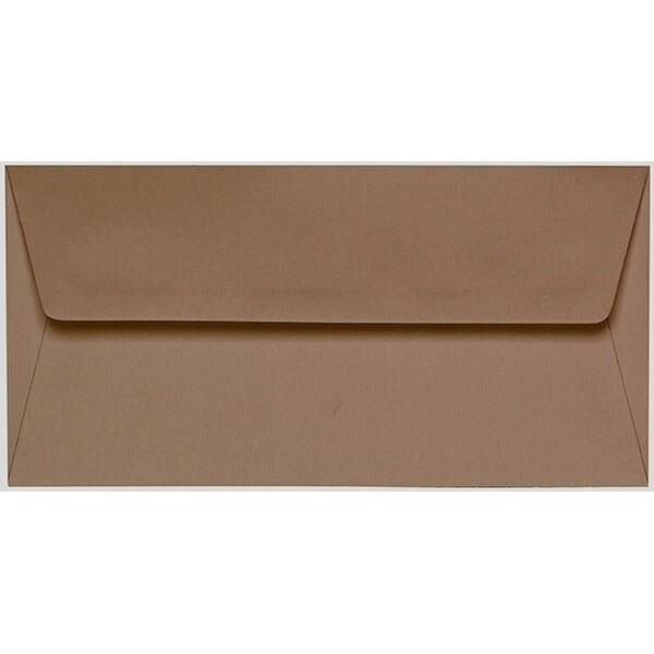 Artoz 1001 - 'Olive' Envelope. 216mm x 80mm 100gsm Letterbox Peel/Seal Envelope.