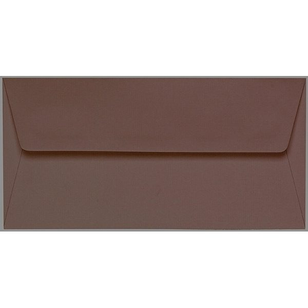 Artoz 1001 - 'Brown' Envelope. 216mm x 80mm 100gsm Letterbox Peel/Seal Envelope.