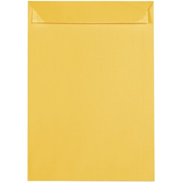 Artoz 1001 - 'Sun Yellow' Envelope. 324mm x 229mm 100gsm C4 Peel/Seal Pocket Envelope.