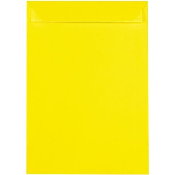 Artoz 1001 - 'Corn Yellow' Envelope. 324mm x 229mm 100gsm C4 Peel/Seal Pocket Envelope.