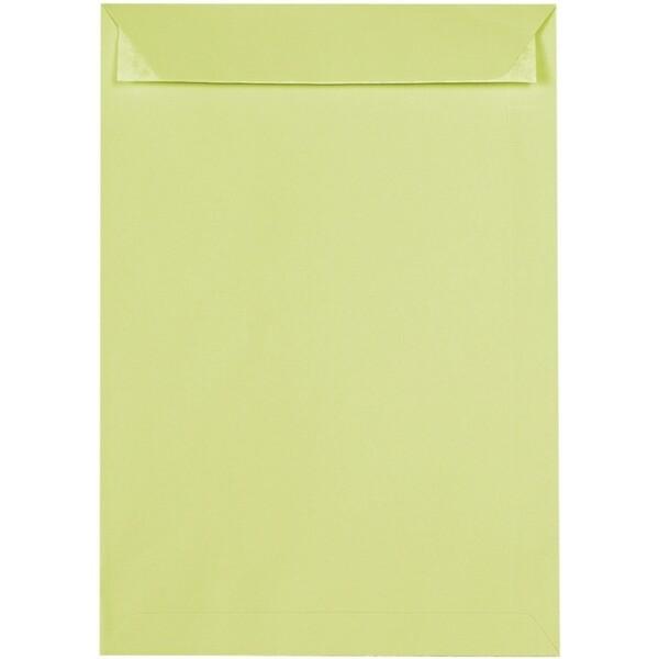 Artoz 1001 - 'Lime' Envelope. 324mm x 229mm 100gsm C4 Peel/Seal Pocket Envelope.