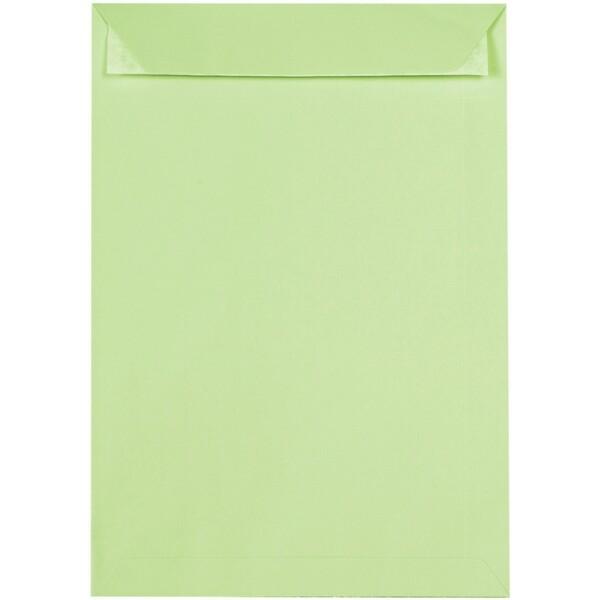 Artoz 1001 - 'Birchtree Green' Envelope. 324mm x 229mm 100gsm C4 Peel/Seal Pocket Envelope.