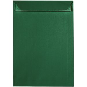 Artoz 1001 - 'Racing Green' Envelope. 324mm x 229mm 100gsm C4 Peel/Seal Pocket Envelope.