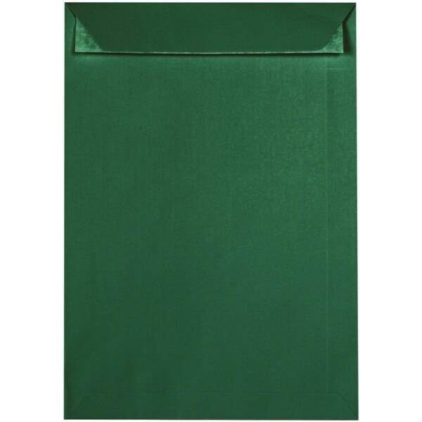 Artoz 1001 - 'Racing Green' Envelope. 324mm x 229mm 100gsm C4 Peel/Seal Pocket Envelope.