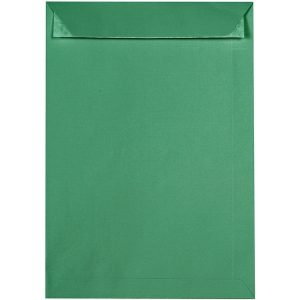 Artoz 1001 - 'Firtree Green' Envelope. 324mm x 229mm 100gsm C4 Peel/Seal Pocket Envelope.