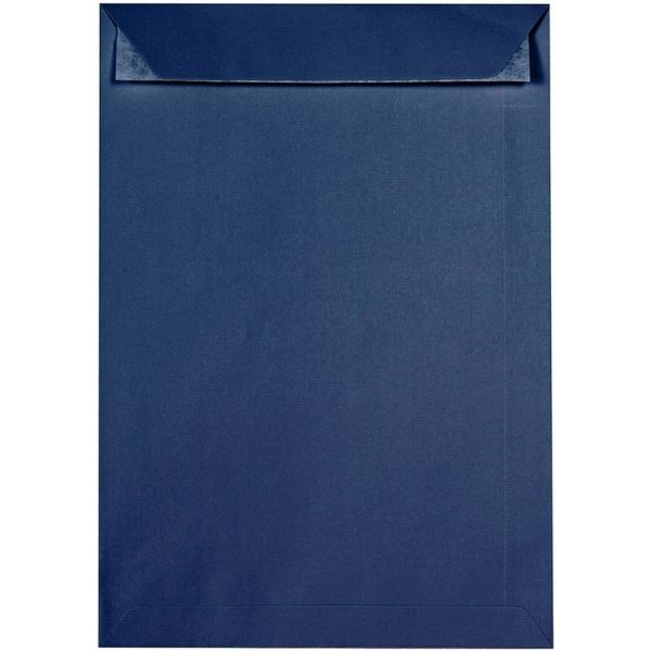 Artoz 1001 - 'Classic Blue' Envelope. 324mm x 229mm 100gsm C4 Peel/Seal Pocket Envelope.