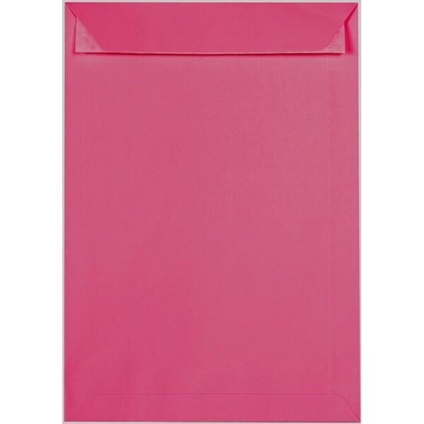 Artoz 1001 - 'Fuchsia' Envelope. 324mm x 229mm 100gsm C4 Peel/Seal Pocket Envelope.