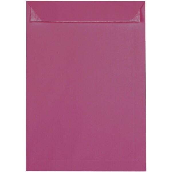 Artoz 1001 - 'Purple Red' Envelope. 324mm x 229mm 100gsm C4 Peel/Seal Pocket Envelope.