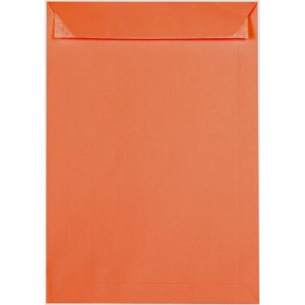 Artoz 1001 - 'Lobster Red' Envelope. 324mm x 229mm 100gsm C4 Peel/Seal Pocket Envelope.