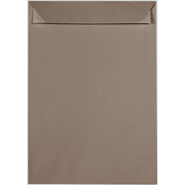 Artoz 1001 - 'Taupe' Envelope. 324mm x 229mm 100gsm C4 Peel/Seal Pocket Envelope.