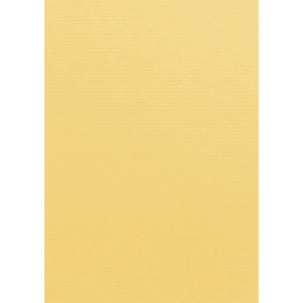 Artoz 1001 - 'Light Yellow' Card. 210mm x 297mm 220gsm A4 Card.