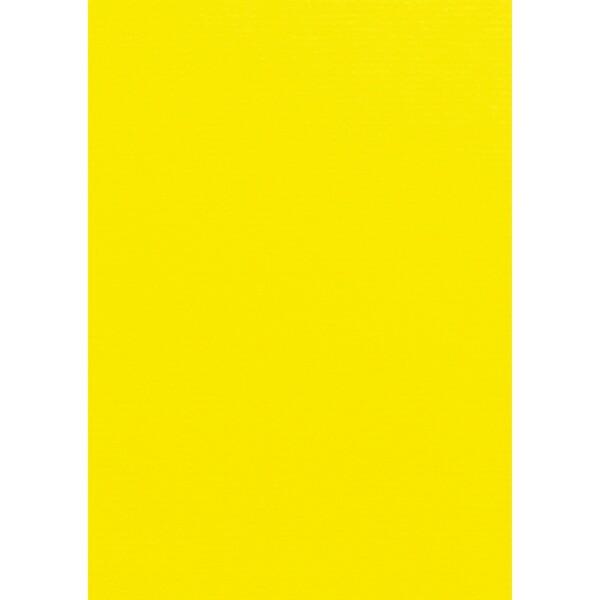 Artoz 1001 - 'Corn Yellow' Card. 210mm x 297mm 220gsm A4 Card.