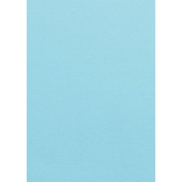 Artoz 1001 - 'Azure Blue' Card. 210mm x 297mm 220gsm A4 Card.
