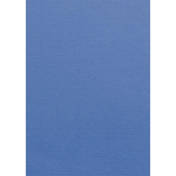 Artoz 1001 - 'Royal Blue' Card. 210mm x 297mm 220gsm A4 Card.