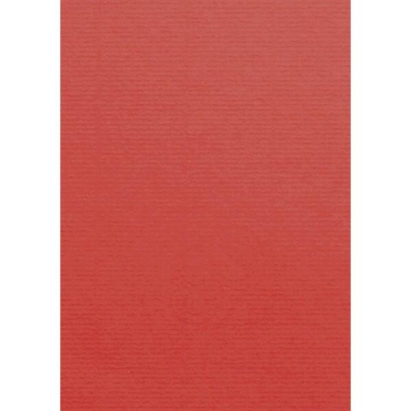 Artoz 1001 - 'Red' Card. 210mm x 297mm 220gsm A4 Card.