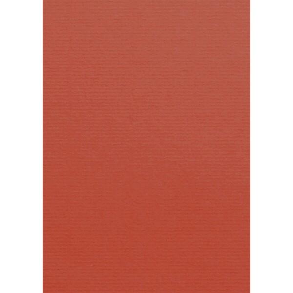 Artoz 1001 - 'Fire Red' Card. 210mm x 297mm 220gsm A4 Card.