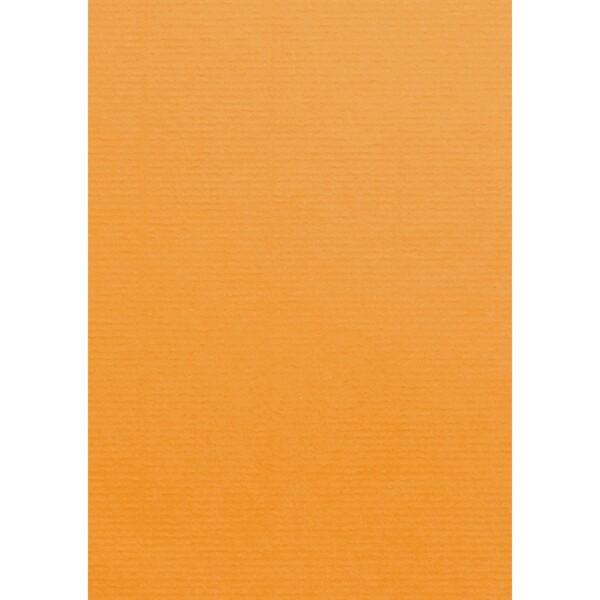 Artoz 1001 - 'Orange' Card. 210mm x 297mm 220gsm A4 Card.