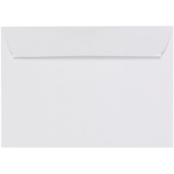Artoz 1001 - 'Blossom White' Envelope. 324mm x 229mm 100gsm C4 Peel/Seal Wallet Envelope.