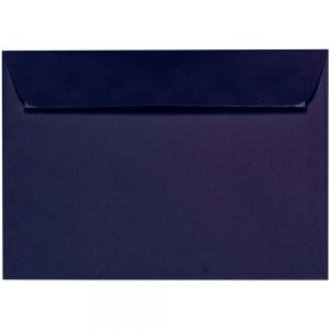 Artoz 1001 - 'Jet Black' Envelope. 324mm x 229mm 100gsm C4 Peel/Seal Wallet Envelope.