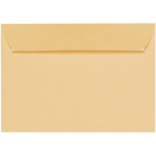 Artoz 1001 - 'Honey Yellow' Envelope. 324mm x 229mm 100gsm C4 Peel/Seal Wallet Envelope.