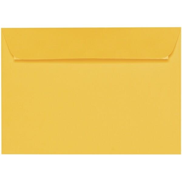 Artoz 1001 - 'Sun Yellow' Envelope. 324mm x 229mm 100gsm C4 Peel/Seal Wallet Envelope.
