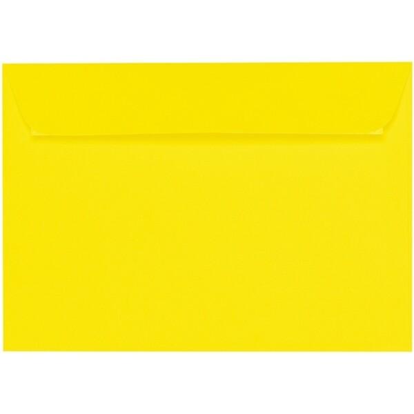 Artoz 1001 - 'Corn Yellow' Envelope. 324mm x 229mm 100gsm C4 Peel/Seal Wallet Envelope.
