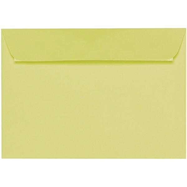 Artoz 1001 - 'Lime' Envelope. 324mm x 229mm 100gsm C4 Peel/Seal Wallet Envelope.
