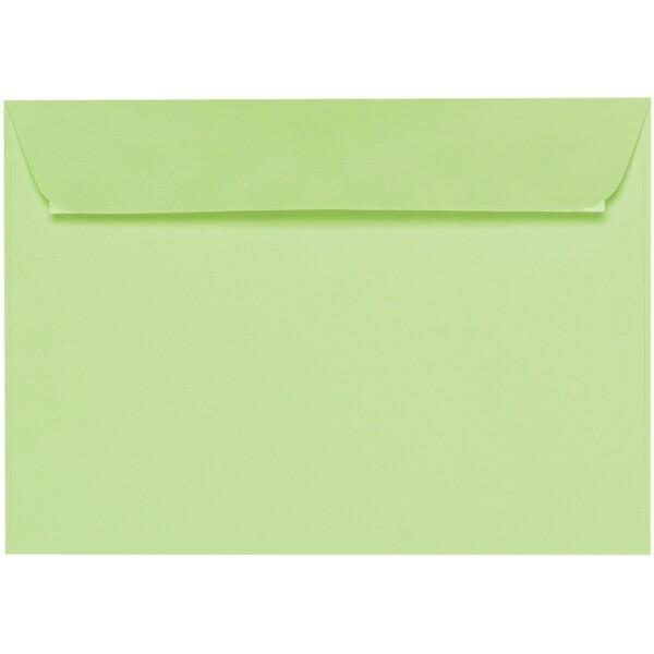 Artoz 1001 - 'Birchtree Green' Envelope. 324mm x 229mm 100gsm C4 Peel/Seal Wallet Envelope.