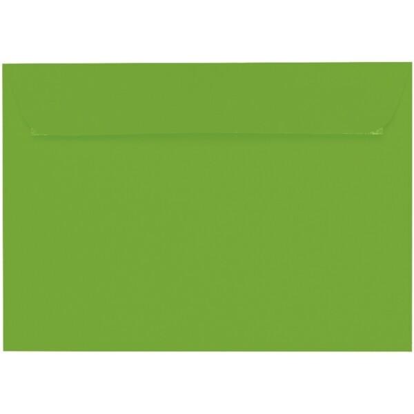 Artoz 1001 - 'Pea Green' Envelope. 324mm x 229mm 100gsm C4 Peel/Seal Wallet Envelope.