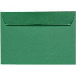 Artoz 1001 - 'Firtree Green' Envelope. 324mm x 229mm 100gsm C4 Peel/Seal Wallet Envelope.