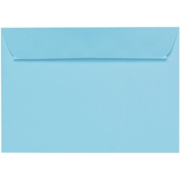 Artoz 1001 - 'Azure Blue' Envelope. 324mm x 229mm 100gsm C4 Peel/Seal Wallet Envelope.