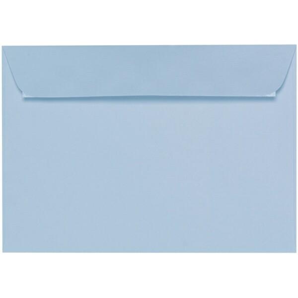 Artoz 1001 - 'Pastel Blue' Envelope. 324mm x 229mm 100gsm C4 Peel/Seal Wallet Envelope.