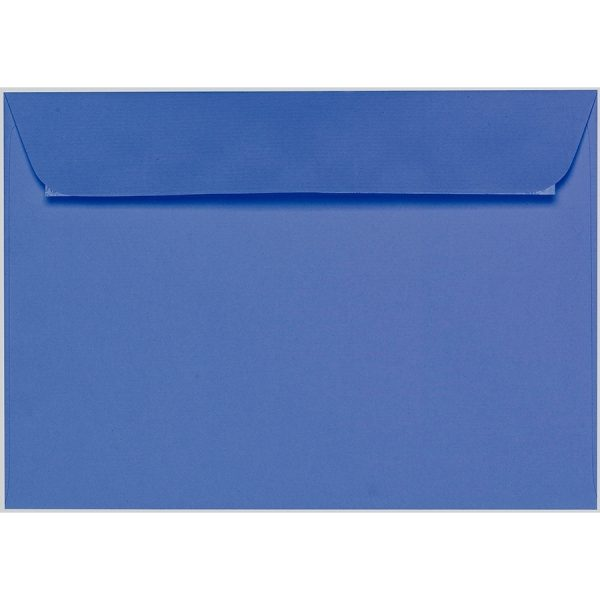 Artoz 1001 - 'Royal Blue' Envelope. 324mm x 229mm 100gsm C4 Peel/Seal Wallet Envelope.