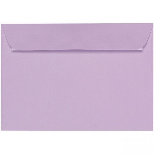 Artoz 1001 - 'Lilac' Envelope. 324mm x 229mm 100gsm C4 Peel/Seal Wallet Envelope.
