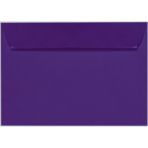Artoz 1001 - 'Violet' Envelope. 324mm x 229mm 100gsm C4 Peel/Seal Wallet Envelope.