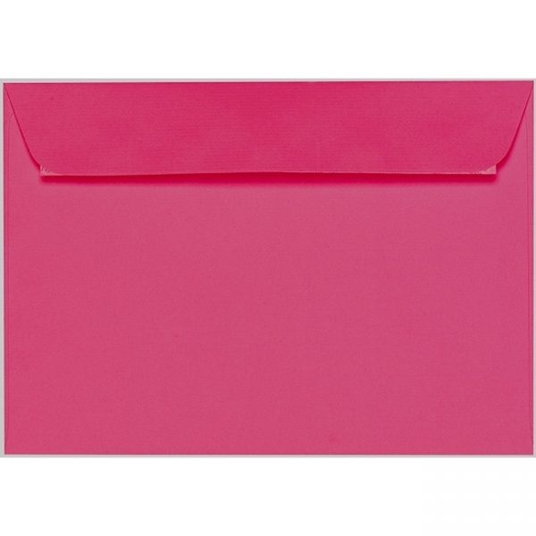 Artoz 1001 - 'Fuchsia' Envelope. 324mm x 229mm 100gsm C4 Peel/Seal Wallet Envelope.