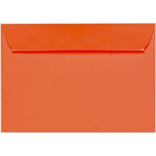 Artoz 1001 - 'Lobster Red' Envelope. 324mm x 229mm 100gsm C4 Peel/Seal Wallet Envelope.