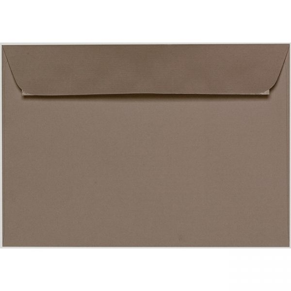 Artoz 1001 - 'Taupe' Envelope. 324mm x 229mm 100gsm C4 Peel/Seal Wallet Envelope.