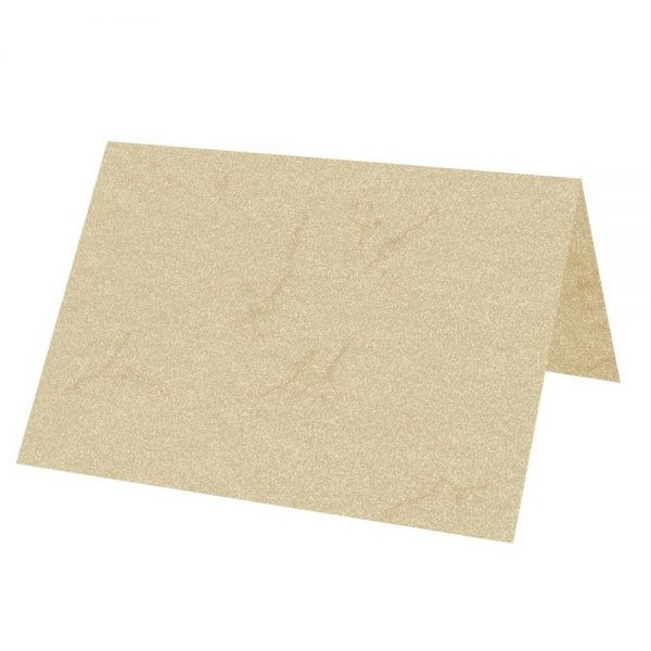 Artoz Rustik - 'White' Paper. 100mm x 90mm 110gsm Place Card Paper.