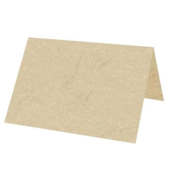Artoz Rustik - 'White' Card. 132mm x 103mm 190gsm A7 Place Card.