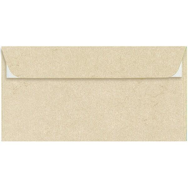 Artoz Rustik - 'White' Envelope. 224mm x 114mm 110gsm DL Peel/Seal Envelope.