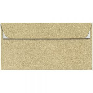 Artoz Rustik - 'Cream' Envelope. 224mm x 114mm 110gsm DL Peel/Seal Envelope.