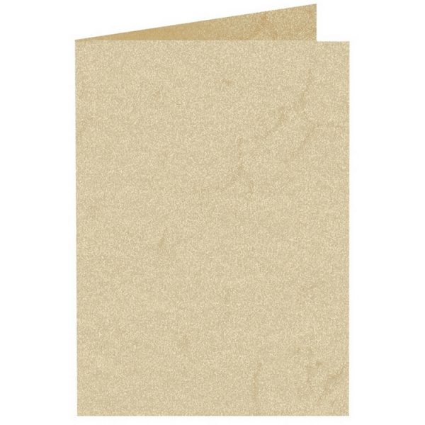 Artoz Rustik - 'White' Card. 210mm x 148mm 190gsm A6 Folded (Long Edge) Card.