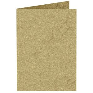 Artoz Rustik - 'Cream' Card. 240mm x 169mm 190gsm B6 Bi-Fold (Long Edge) Card.