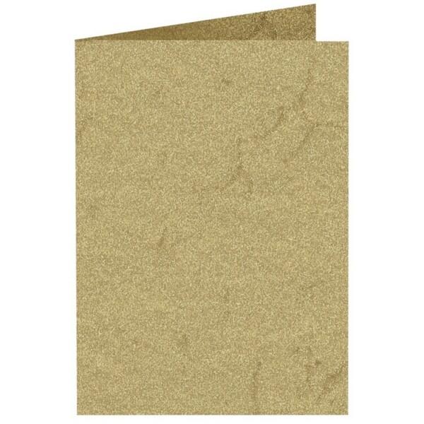 Artoz Rustik - 'Cream' Card. 250mm x 180mm 190gsm E6 Bi-Fold (Long Edge) Card.